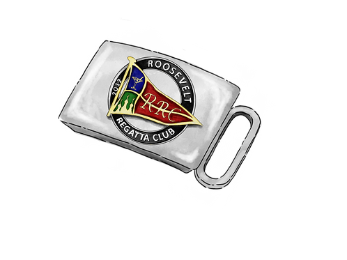 Roosevelt Regatta Club Belt Buckle