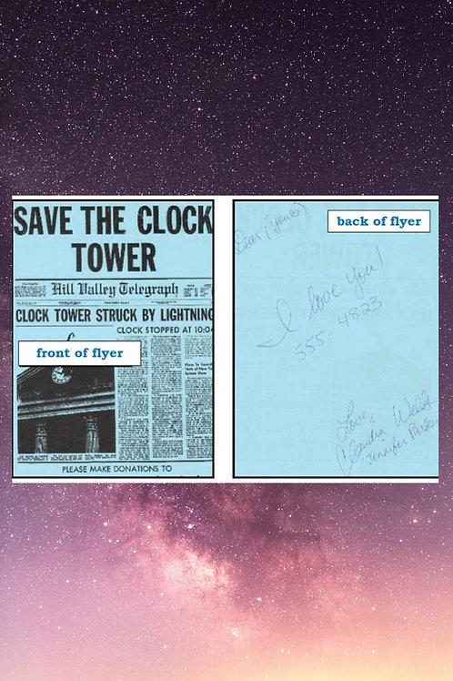 Clock Tower Flyer