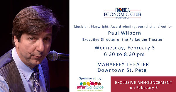 Paul Wilborn_Florida Economic Club_St Pe