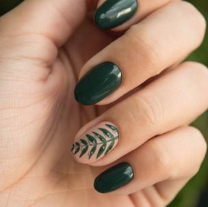 Petite Nail Spa_green nails.jpeg