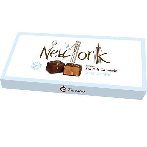 New York Sea Salt Caramels 14oz Box