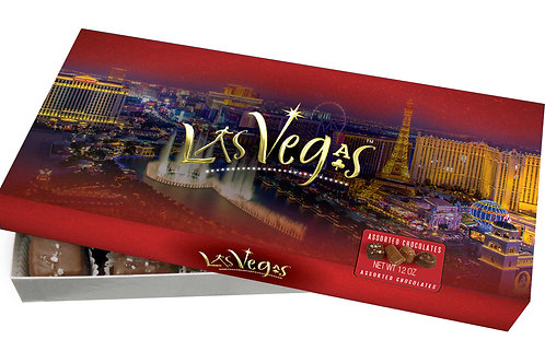 Las Vegas Assorted Chocolates 12oz Box