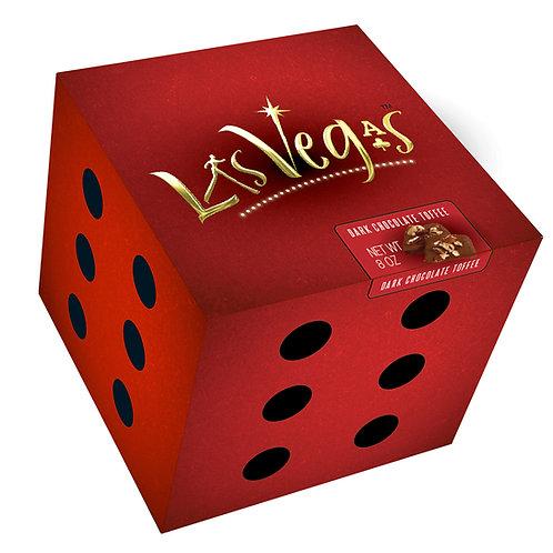 Las Vegas Dark Toffee 8oz Box