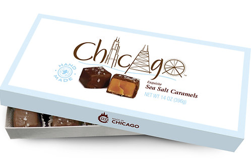 Chicago Sea Salt Caramel 14 oz. Box