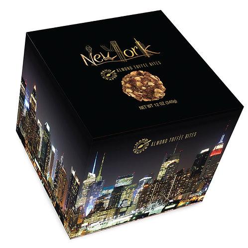 New York Almond Toffee Bites - 12oz Box