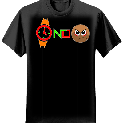 WATCH NO FACE T-SHIRT