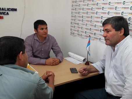 Hugo Calvano apoyó la conformación de Cambiemos en Curuzú Cuatiá