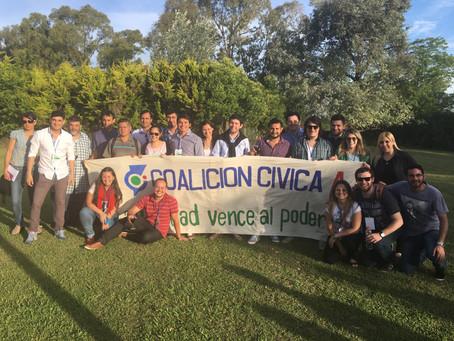 La Coalición Cívica Corrientes logró dos cargos partidarios nacionales