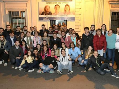 Con la CC ARI Corrientes nos sumamos a la red solidaria #JuntosChamigo