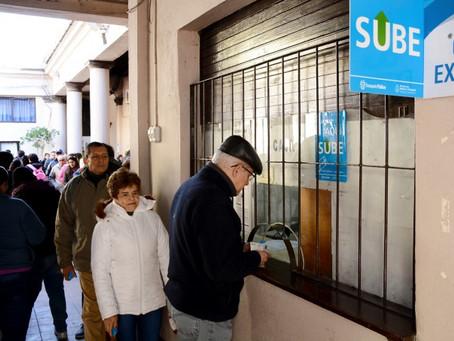 Pases libres para mayores de 60: Nieves y Calvano solicitan que se los vuelva a implementar