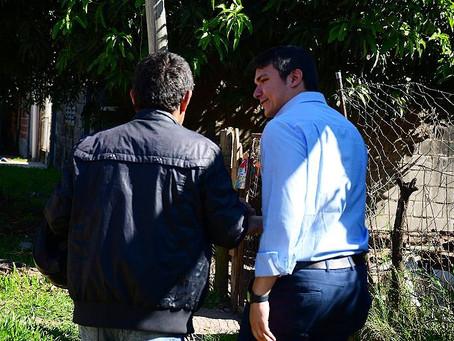 Avanzamos con las cloacas sociales en el barrio Molina Punta