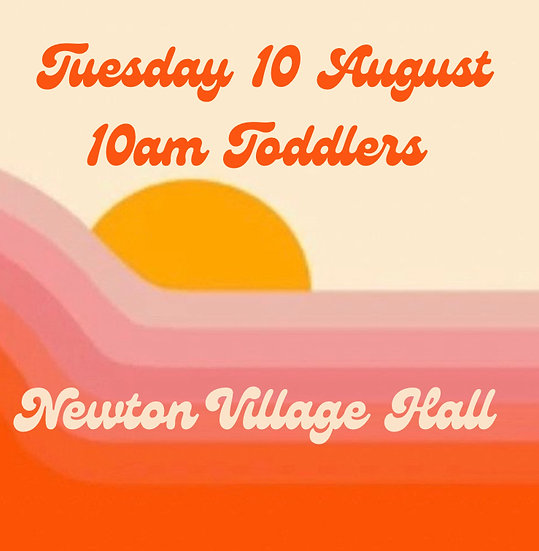 10am Tue 10 Aug Toddlers Adult and 1 child