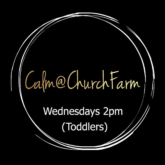 4 weeks Wednesday 2pm (Toddlers) Calm @ Church Farm