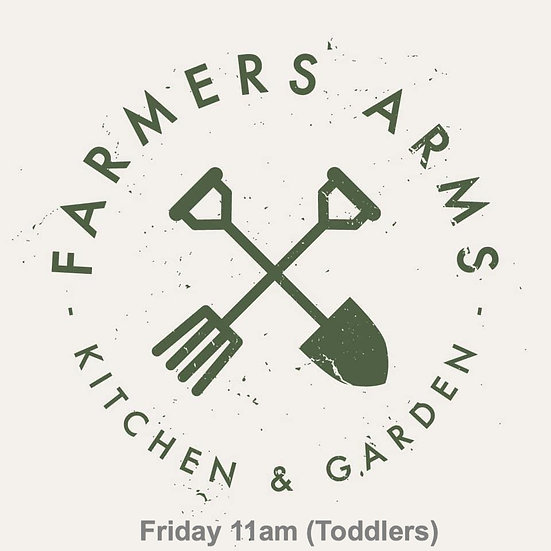 6 weeks Fridays 11am at The Farmers Arms (Toddlers)