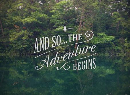 A new adventure begins....