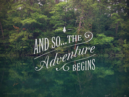 A new adventure begins....