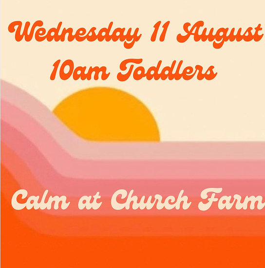 10am Wed 11 Aug Toddlers    Adult and 1 child