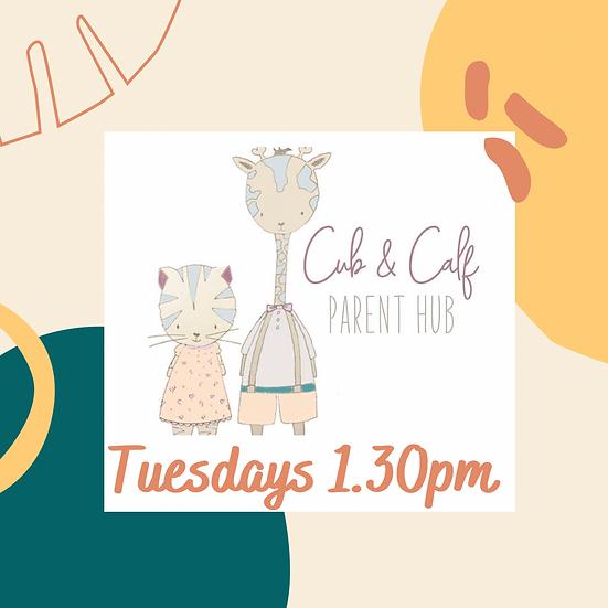 6 week block - Tuesday 1.30pm Cub & Calf (Mixed)