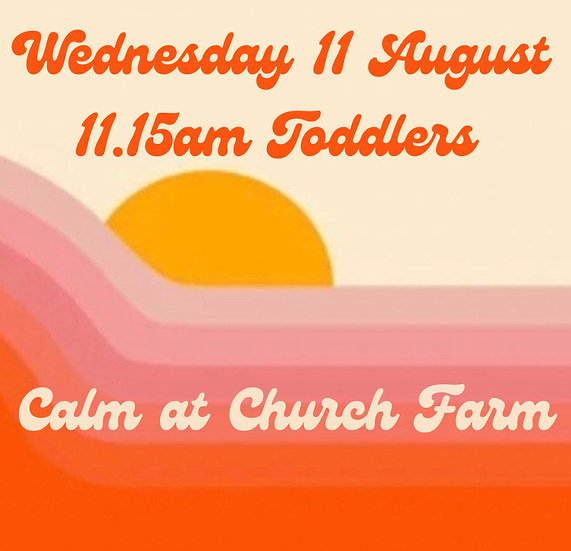 11.15am Wed 11 Aug Toddlers   Family Booking