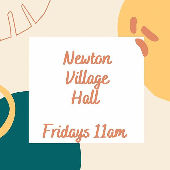 6 week block - Fridays 11am at Newton Village Hall Mixed)