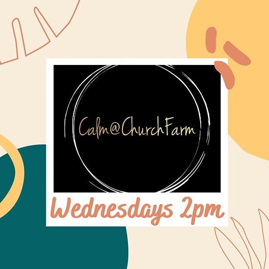 6 weeks Wednesday 2pm (Mixed) Calm @ Church Farm