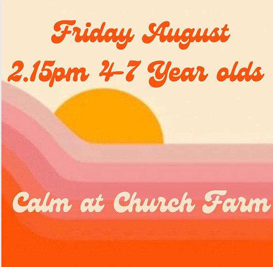 2.15pm Fri 13 Aug 4-7s   Family Booking