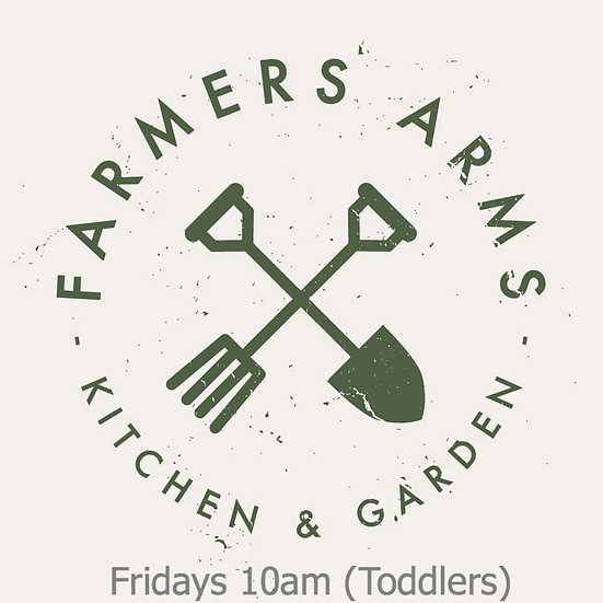 6 weeks Fridays 10am at The Farmers Arms (Toddlers)