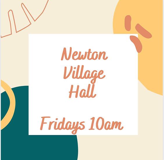 6 week block - Fridays 10am at Newton Village Hall (Mixed)