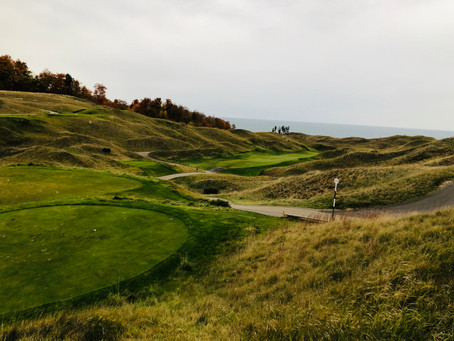 Arcadia Bluffs Golf Club - Michigan