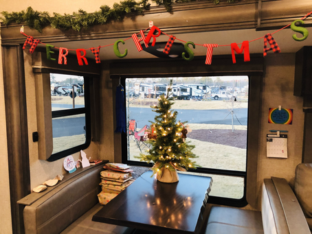 Christmas in a Camper