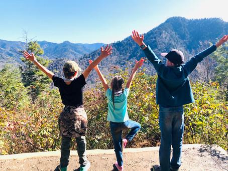 Chimney Tops Hike - Smoky Mountain National Park