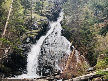 Pine Creek Falls Hike