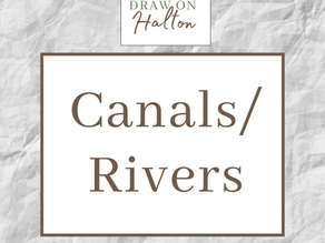 Draw on Halton - Canals and Rivers