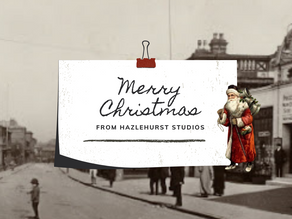 Merry Christmas from Hazlehurst Studios