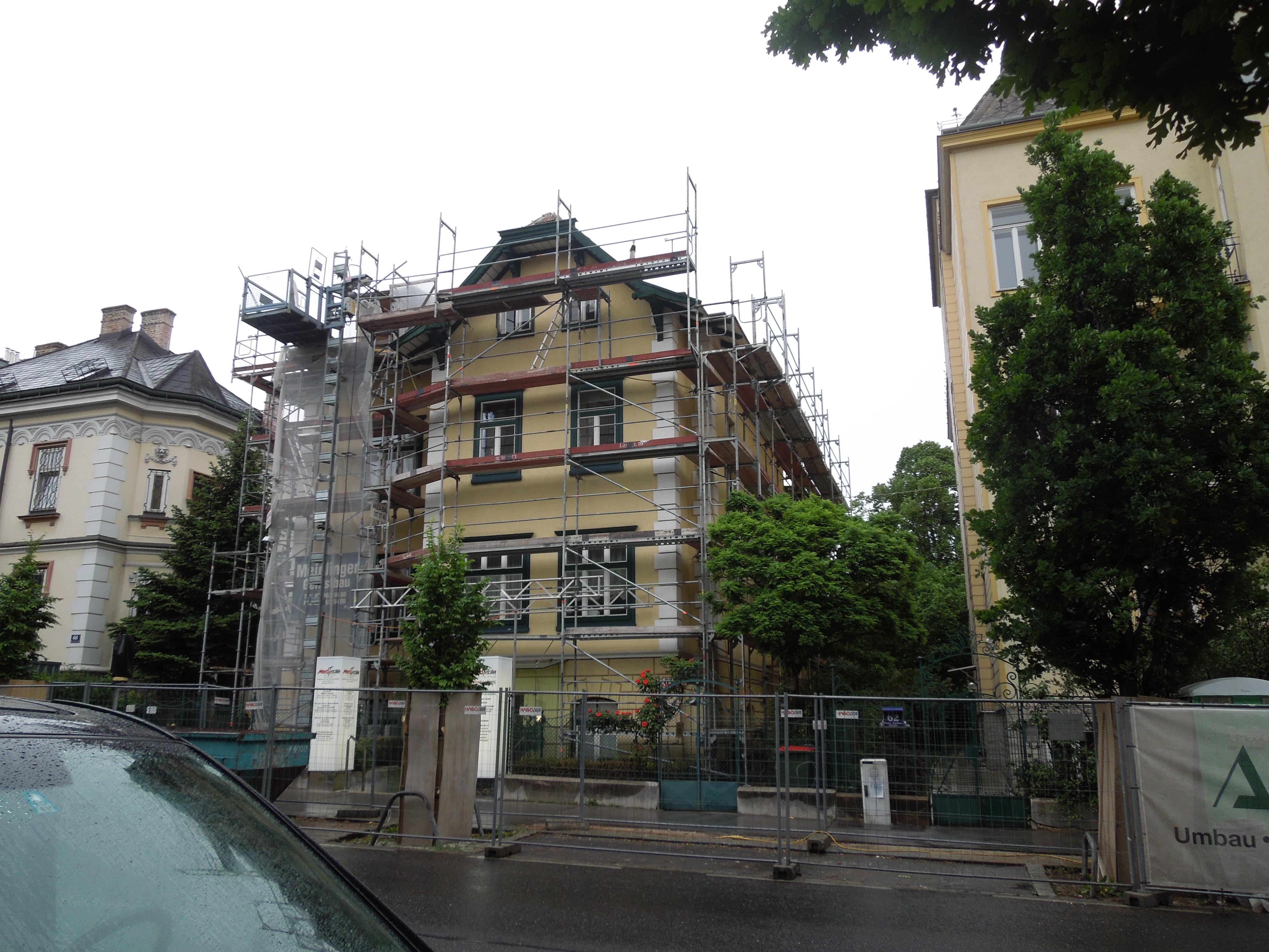 Villa im Original