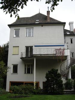 Haus M Gartenfassade vorher