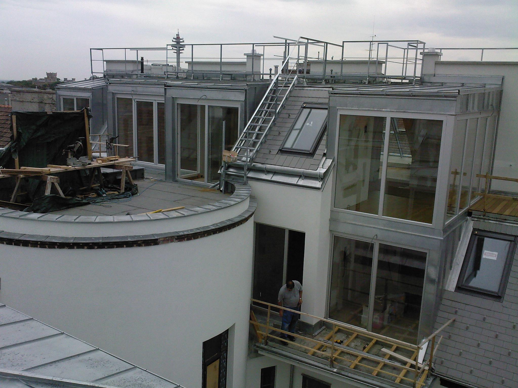 Schelleing Dach hofseite