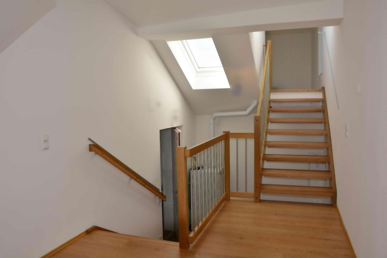 Stiegenaufgang Dachgeschoß