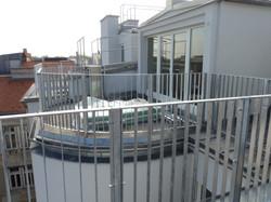Terrassen Richtung Prater