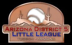 arizona district 5 little league custom baseball pins tucson arizona.png