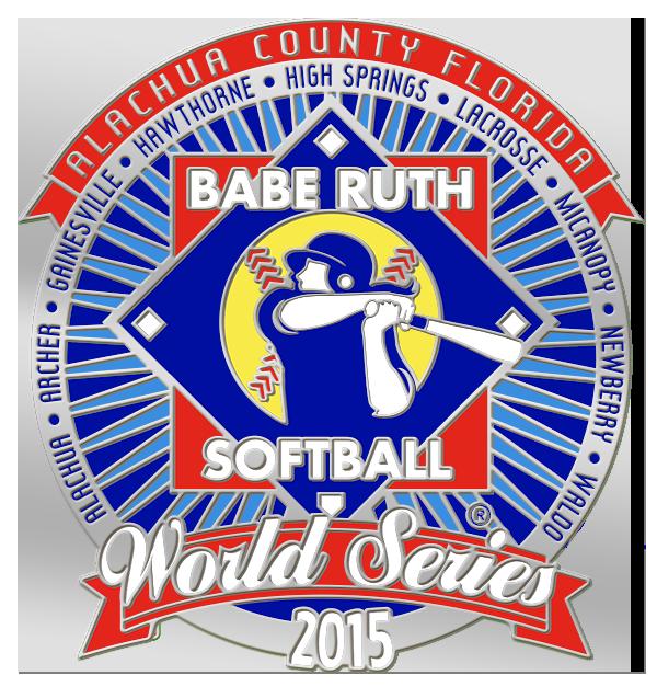 babe ruth softball world series custom trading pin.png