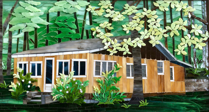 Farm Island Cabin by Mimi Leminh