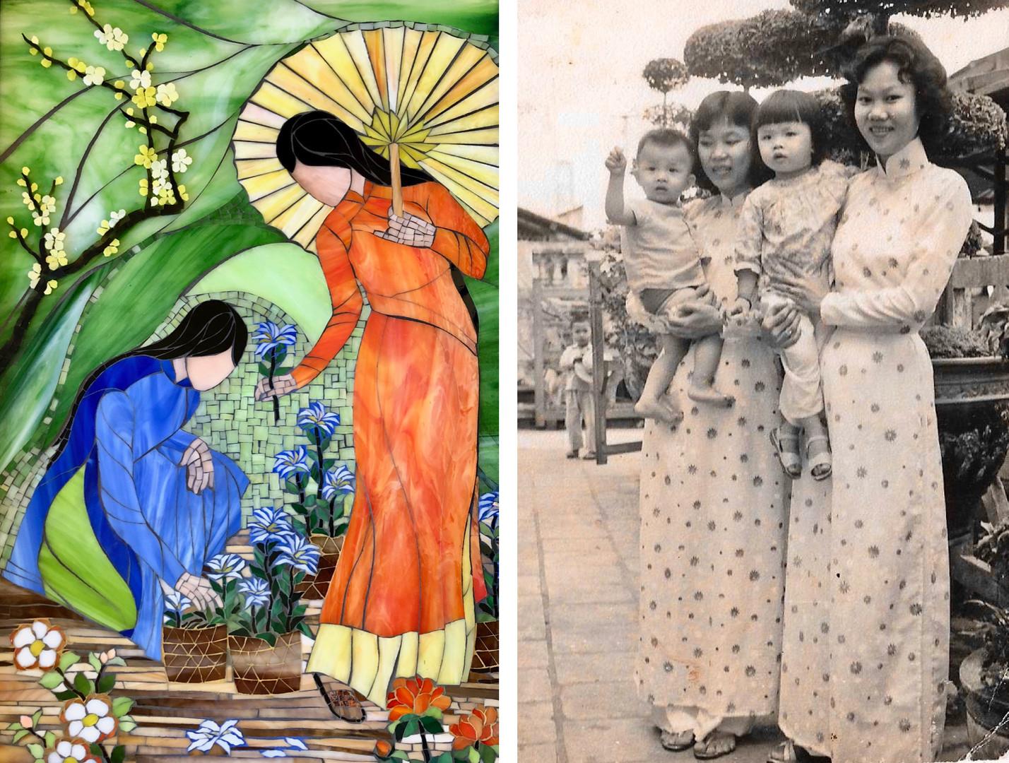 Flower Market by Mimi Leminh