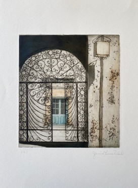 Copper plate etching & engraving