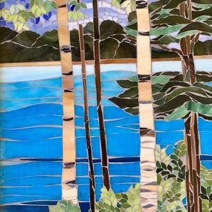 Lake Birch by Mimi Leminh