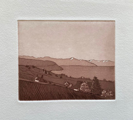 Copper plate etching