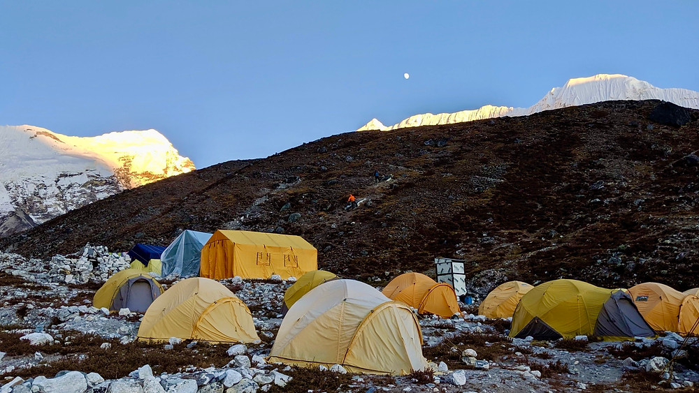 Island Peak Base Camp (5,200m / 17,060ft)