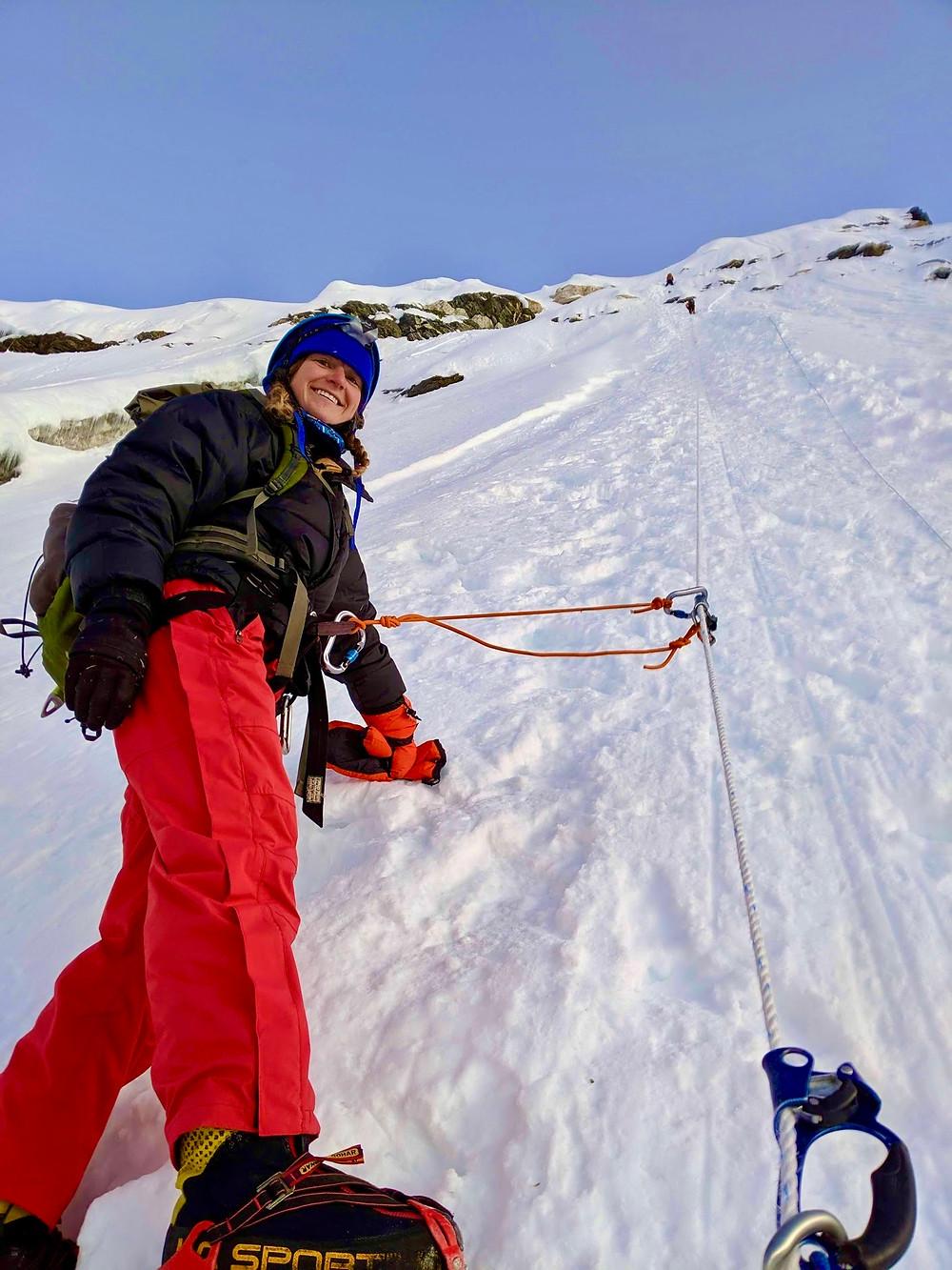 Climbing Island Peak in Nepal