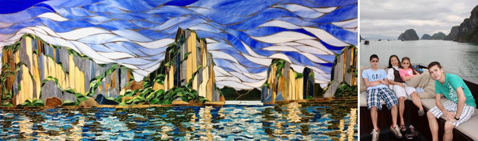 Ha Long Bay by Mimi Leminh