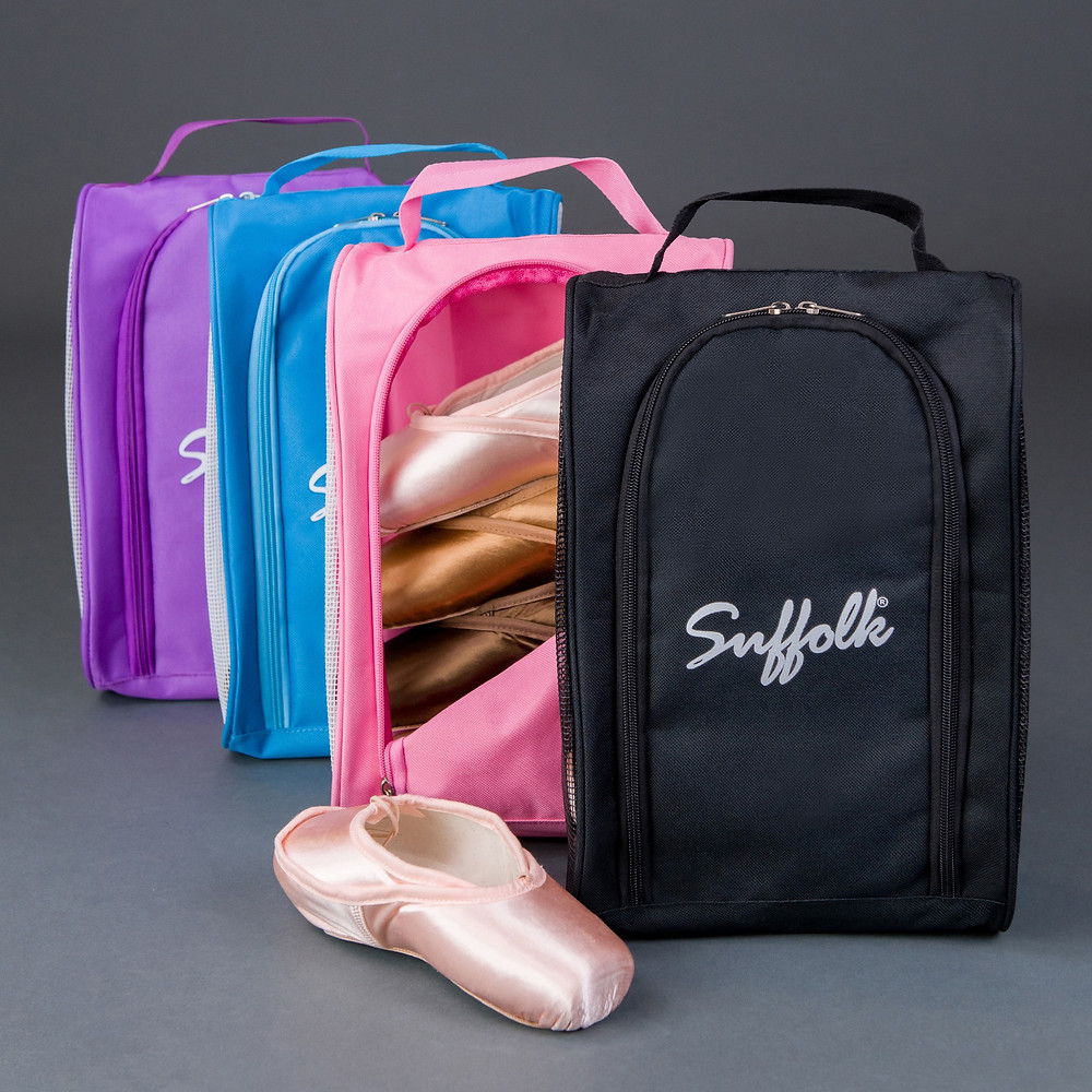 Suffolk Dance Mesh Pointe Shoe Bag